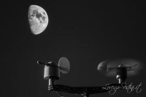 Luna e stazione Meteo
