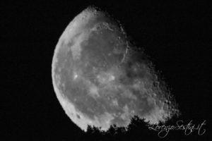 Sorgere della Luna da Campriano Arezzo Telescopio Mak 127