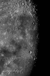 Luna e particolari