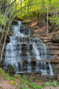 Le tre cascate a Badia Prataglia