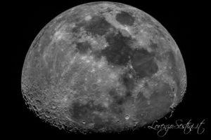 Luna Celestron c9 Canon 60d