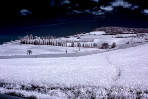 Infrarosso Val d'Orcia