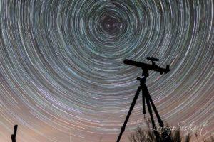 Rotazione con telescopio