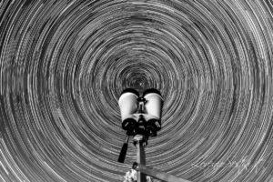 Rotazione con binocolo