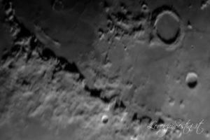 Luna con celestron c9 qhy5 l color