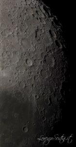Mosaico Lunare con Newton 200-1000 Canon 1100d