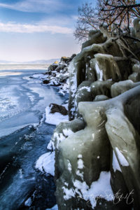 Lago Trasimeno Ghiacciato