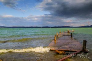Pontile al Lago Trasimeno