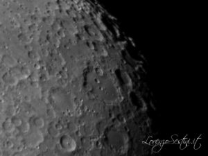 Mosaico Lunare Canon 60d telescopio c8