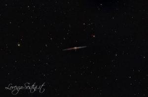 Galassia NGC4565 newton 150-750 nina canon 1100d uhc