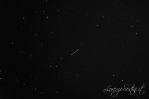 Asteroide Florence scatto di_600s con Canon 1100d