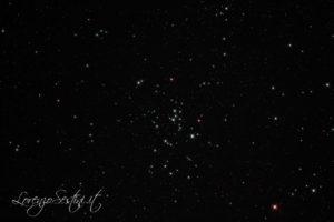 Ammasso aperto m47 canon 1100d full spectrum con filtro l-pro heq5 Newton 150-750 Sky Watcher guida atik titan mono.