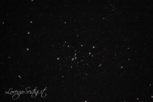 Ammasso aperto m48 canon 1100d full spectrum con filtro l-pro heq5 Newton 150-750 Sky Watcher guida atik titan mono.