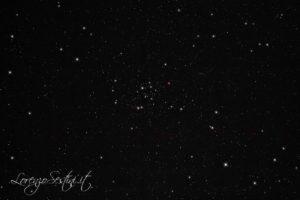 Ammasso aperto m50 canon 1100d full spectrum con filtro l-pro heq5 Newton 150-750 Sky Watcher guida atik titan mono.