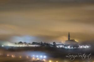 Arezzo nella Nebbia