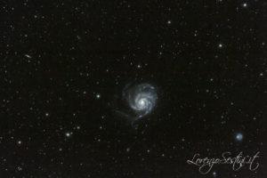 Galassia M101 Girandola. Canon 60d non modificata con 80ed e heq5
