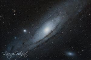 M31 M32 M110 Galassia di Andromeda con Canon 70d eq5 syn scan.
