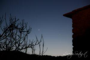 Venere e Mercurio 9 aprile 2010