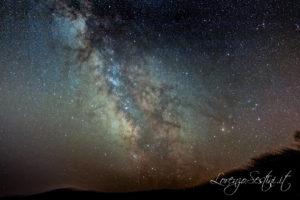 Via Lattea con Canon 1100d e filtro cls clip. Star Adventure.