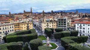 Arezzo centro storico dal Hotel Continentale