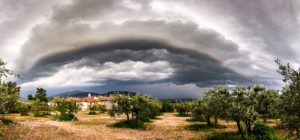 Shelf Cloud Arezzo