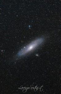 Galassia di Andromeda con 70-300 e star adventure. m31