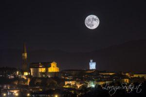 Arezzo Notturna Luna Piena