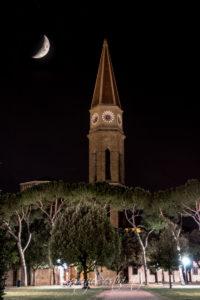 Arezzo e il Duomo e Luna