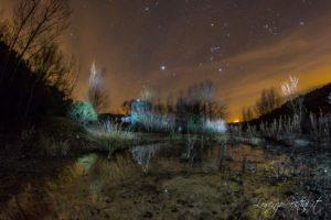 Notturna alla cava di Civitella in val di Chiana