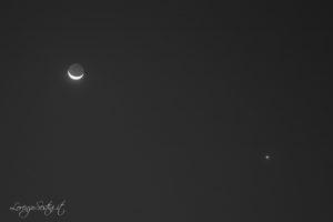Luna e Venere.